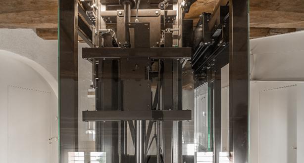 ascensori domestici azionamenti